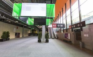 Halle 9.0 Foyer SGP SGAI CongressEvents