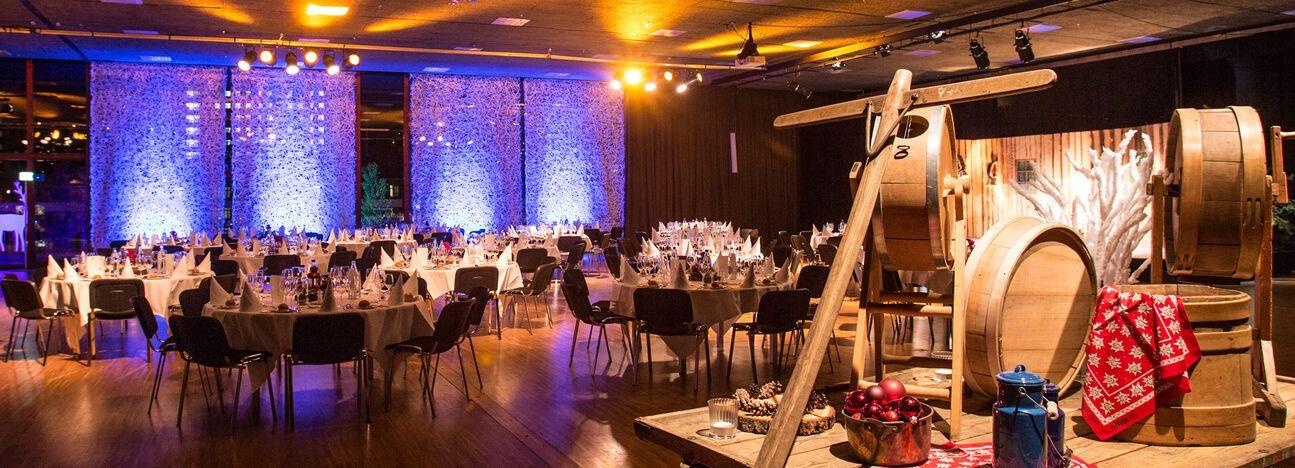 Weihnachtsessen Firmen.Ihr Firmen Event Congressevents St Gallen